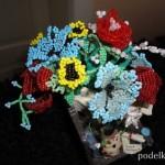 Марийка и ее бисерные цветы